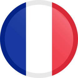 flag-button-round-france